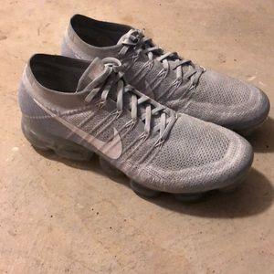 Men's Nike Vapor Max Silver